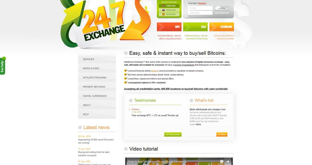 247exchange review buy bitcoins with credit card 247exchange review ccuart Choice Image