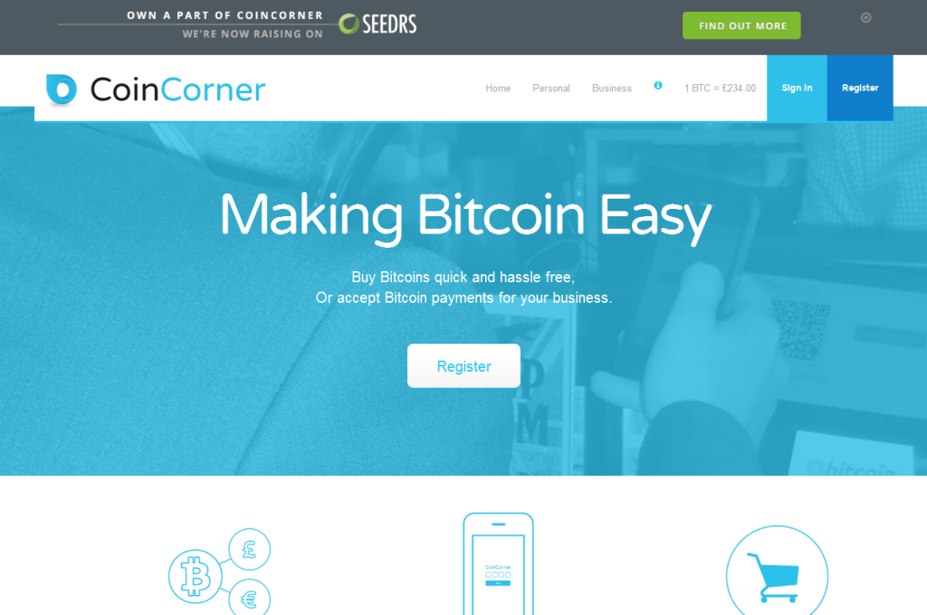 coincorner user experience review